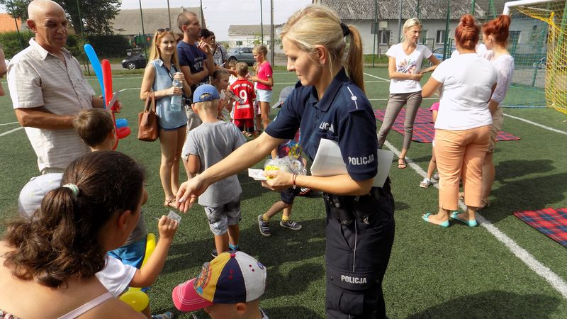 Festyn W Chrapowie Aktualności Komenda Powiatowa Policji